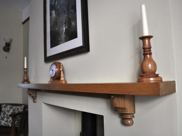 Woodturning Mantelpiece