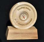 Duke of Edinburgh Award trophy