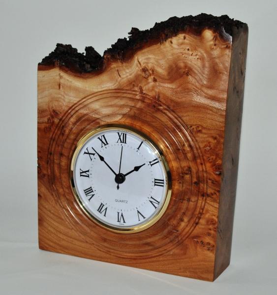 Woodturning Clocks Burr Skeleton Clock