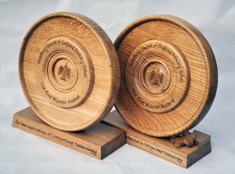 Handmade Bespoke Wooden Trophies